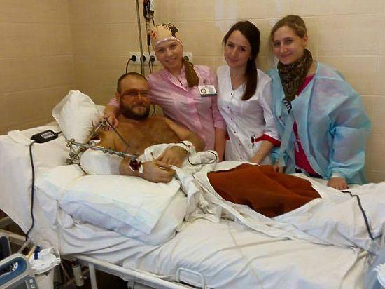 Раненый под Донецком лидер