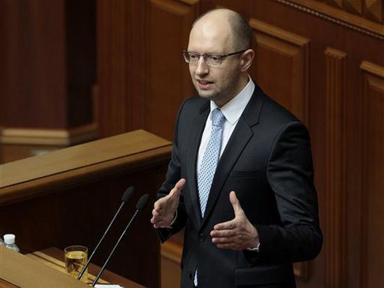 Яценюк ушел в отставку с поста премьер-министра Украины