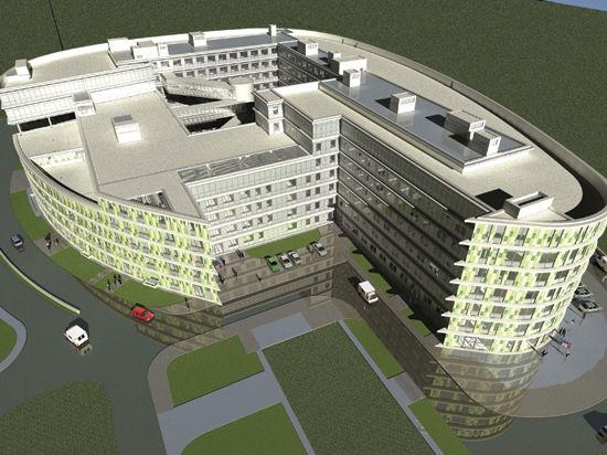 Роддом в форме яйца будет построен на западе Москвы в скором времени