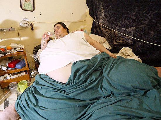 Скончался самый тучный человек на планете, весивший 597 кг