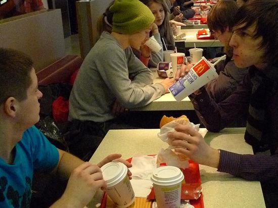 За «Макдоналдс» заступились рестораторы