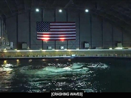 Флот США строит для испытания кораблей свой собственный океан