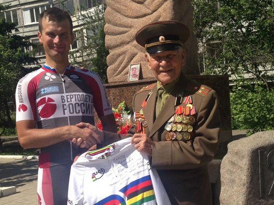 Чемпион мира по велотреку рассказал, почему передал все призовые ветерану Великой Отечественной