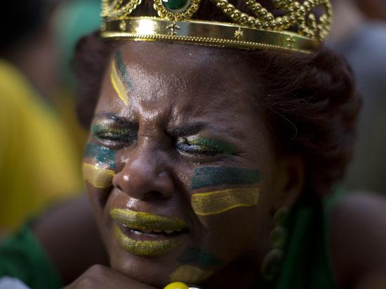 Удача или мистика: несколько счастливчиков угадали точный счет между Германией и Бразилией
