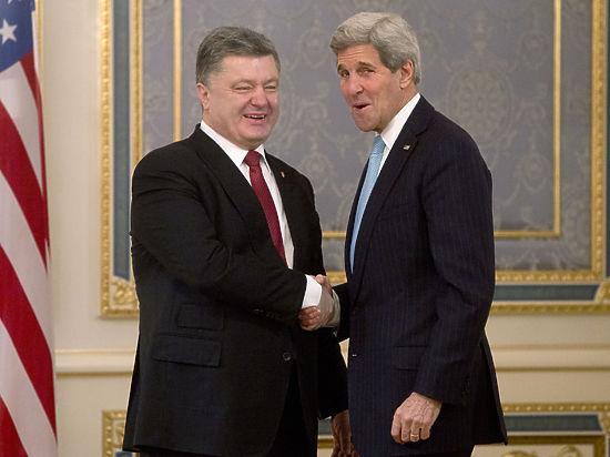 Керри пообещал Киеву два миллиарда долларов и, возможно, оружие от Обамы
