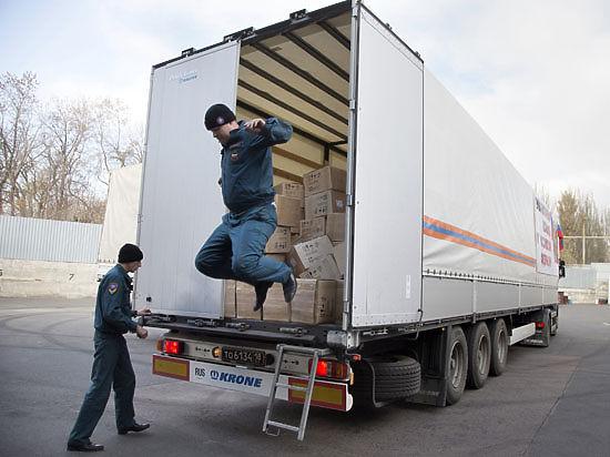 Россия согласовывает отправку седьмого гумконвоя на Донбасс