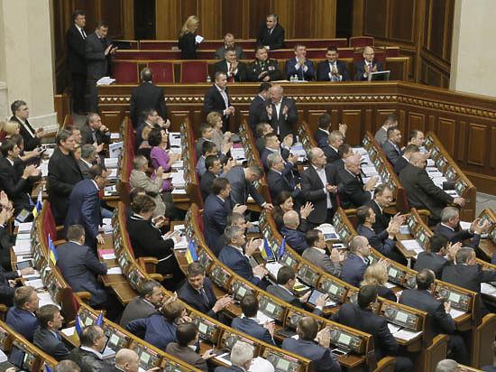 Украинские депутаты потеряют неприкосновенность