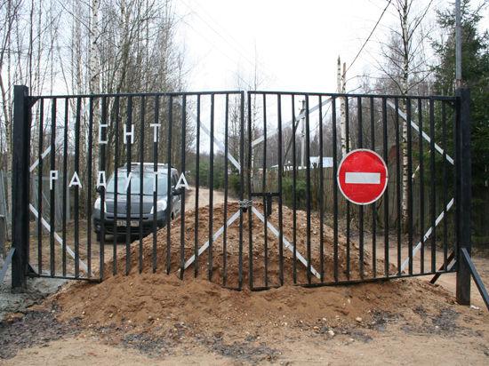 В Талдомском районе 14 дачников перекрыли дорогу, которой пользовались  несколько тысяч жителей