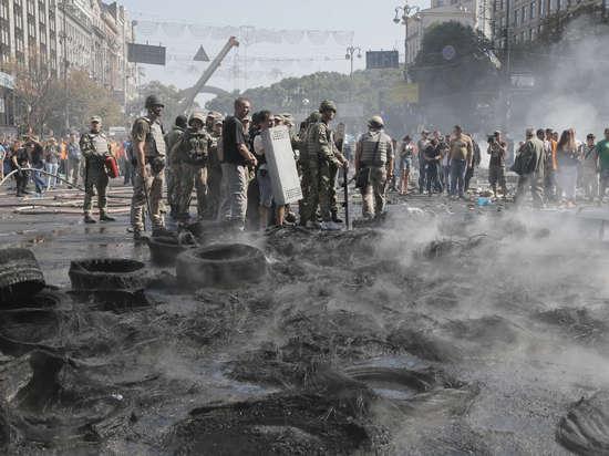 В Киеве задержали мужчину, который устроил взрыв на Майдане