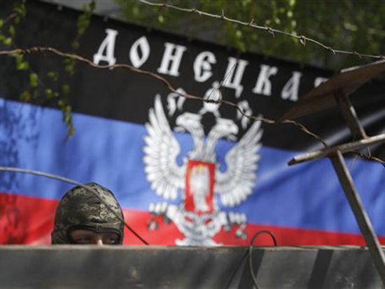 Пять городков на трассе Донецк - Луганск подняли флаги ДНР