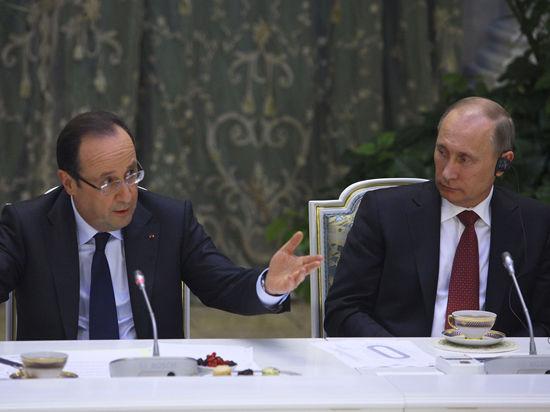 Президенту Франции придется провести для Путина и Обамы два отдельных банкета