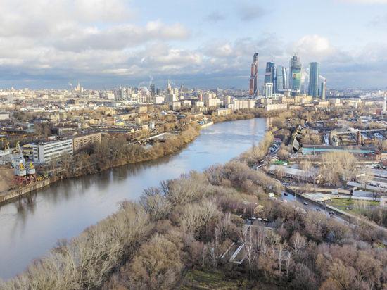 В Москве-реке нужно утопить 50 миллиардов
