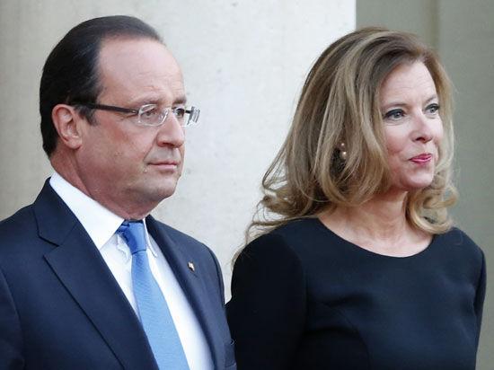 В СМИ появились новые отрывки из книги бывшей спутницы Франсуа Олланда