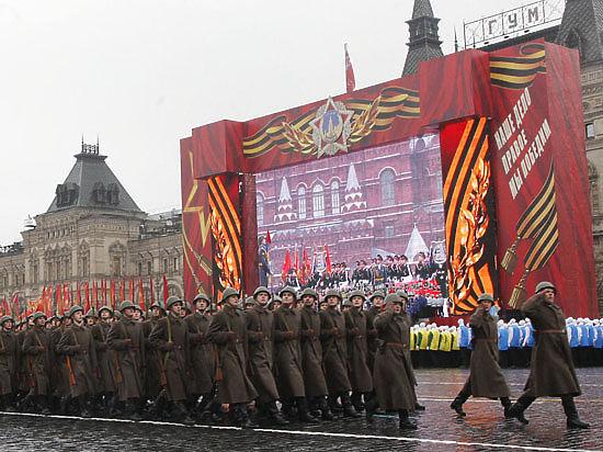 На Красной площади взяли штурмом Рейхстаг