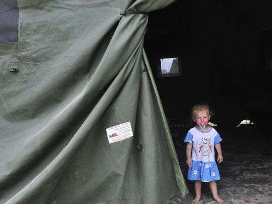 Крым трещит под напором беженцев