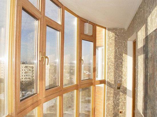 Теплое остекление балконов и лоджий из ПВХ