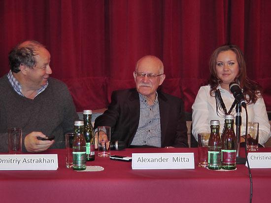 Александр Митта представил в Вене свою картину «Шагал – Малевич»