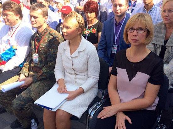 Юлия Тимошенко избегает слова «Россия»