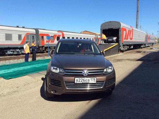 В России появятся двухэтажные поезда для перевозки автомобилей