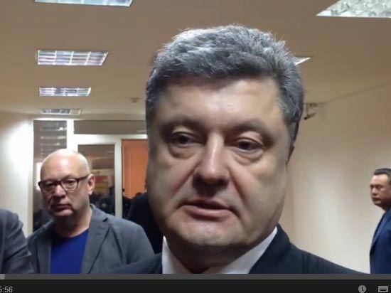 Кандидату в президенты Украины Петру Порошенко угрожают