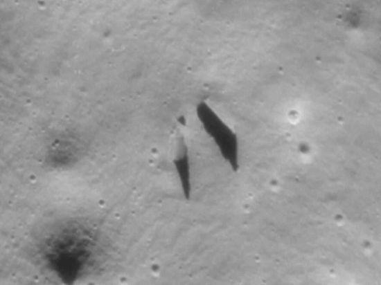 На Луне найдены, предположительно, остатки зданий