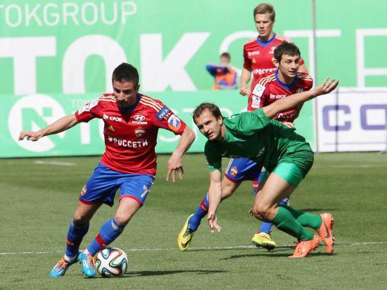 ЦСКА - Бавария - 0:1: Армейцы достойно проиграли мюнхенцам при пустых трибунах