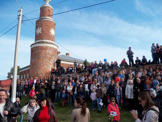 Фестиваль уличных театров «Золотая карусель» прошел в Коломне