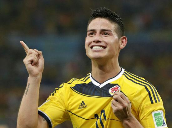 Лучший бомбардир ЧМ-2014 Хамес Родригес официально стал игроком «Реала»