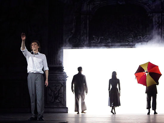 Спектакль получился в духе «пьесы без слов»