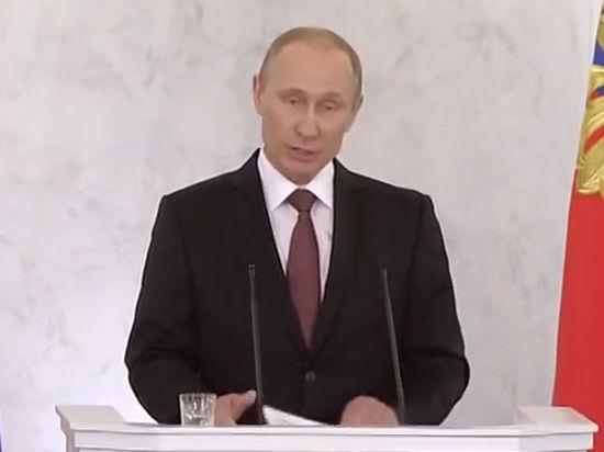 Видео о Крымской речи Путина бьет рекорды в Интернете