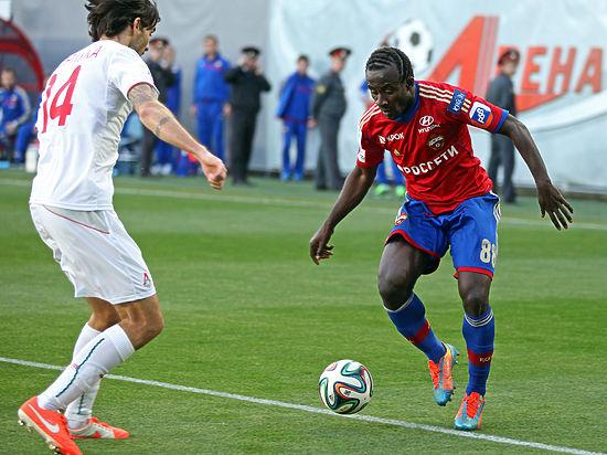 Нападающий ЦСКА Сейду Думбия признан лучшим футболистом России в 2014 году