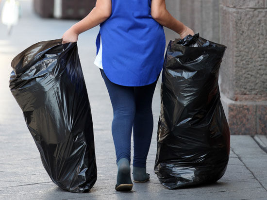 Экологичность пакетов для мусора придется оценивать Фемиде