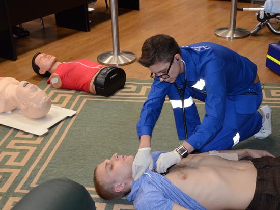 Формула фельдшера: спасатели тренируются в режиме нон-стоп