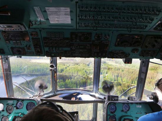 В Туве уже третьи сутки ищут Ми-8: задействованы 2 самолета и 5 вертолетов
