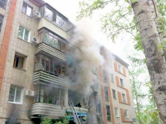 Взрыв газа разнес жилой дом в Хабаровске
