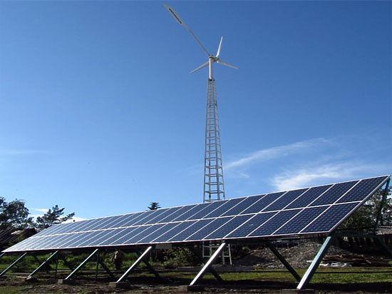 В Башкирии заработала первая коммерческая ветро-солнечная электростанция