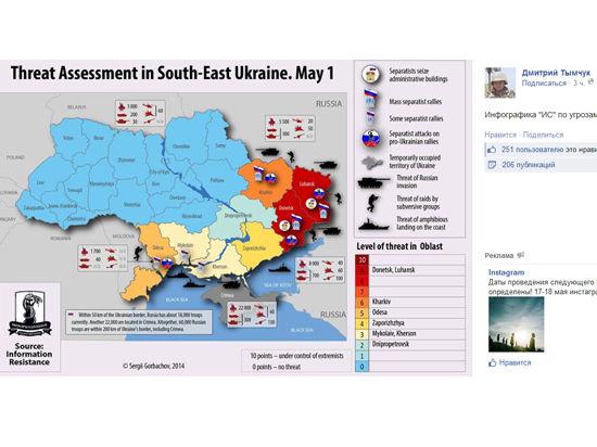На Украине распространяется сообщение о вторжении России 1 мая