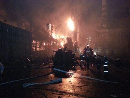 Взрыв на Ачинском НПЗ может подорвать имидж врио