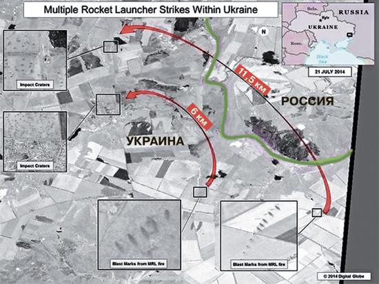 Cнаряды могут лететь с Украины на Украину над российской территорией