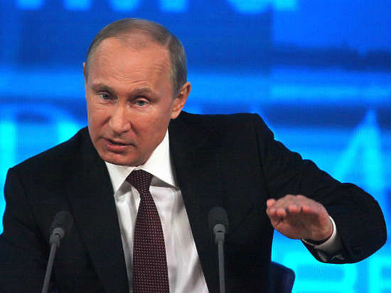 """Президент РФ заявил, что его """"напрягают"""" попытки Запада заставить Россию платить за чужие политические просчеты"""