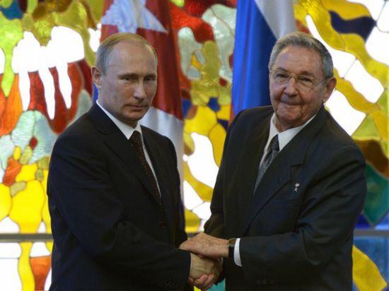 Путин на Кубе: