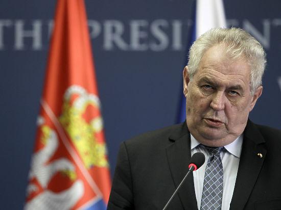 Президент Чехии выматерился на радио, похвалил Путина и назвал Ходорковского вором