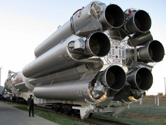 Крушение российских ракет