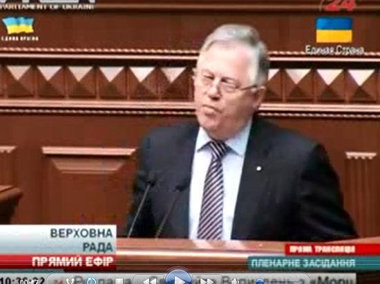 Коммунист Симоненко снялся с выборов президента во время дебатов с Рабиновичем