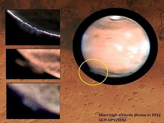 Астрономы заметили над поверхностью «Красной Земли» странное облако, которое распространилось на тысячу километров