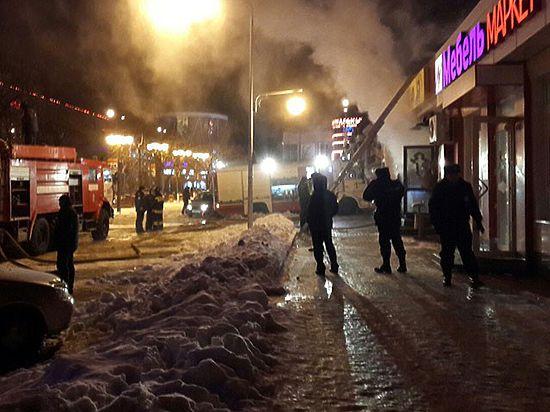 А у нас все пучком. В Центральном Черноземье стали гореть магазины эконом-класса