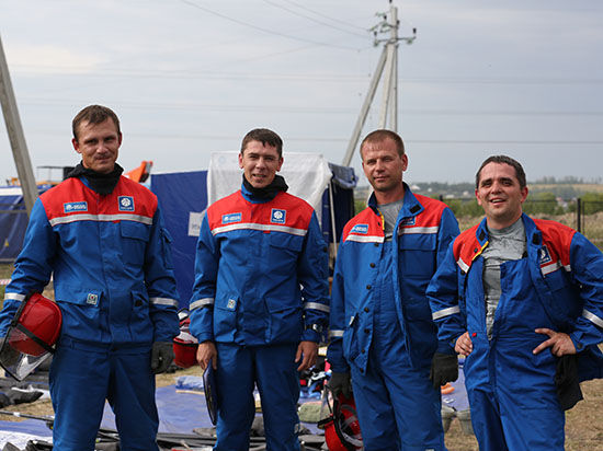 В Ленинградской области прошли ХI Международные соревнования энергетиков стран СНГ