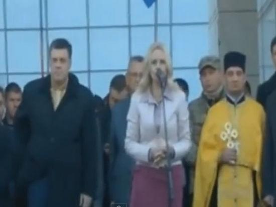 Депутат Верховной рады Украины процитировала Гитлера и призвала уничтожить Москву