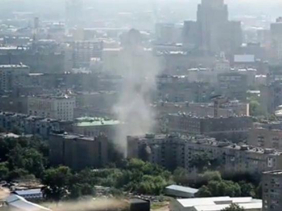 На Кутузовском проспекте прогремел взрыв