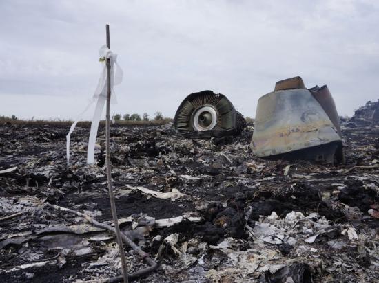 Место падения Боинга частично взято под контроль украинской армией
